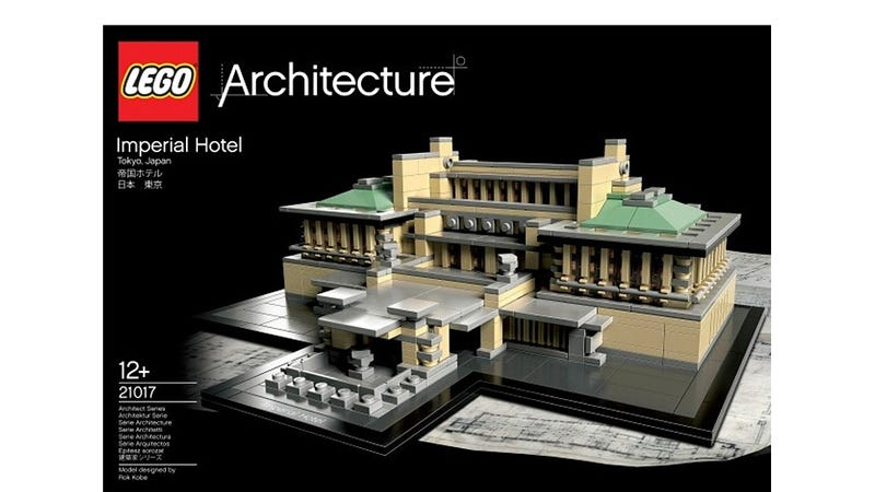 Illustration for article titled Lego Embrickens Another Frank Lloyd Wright Masterpiece: The Imperial Hotel