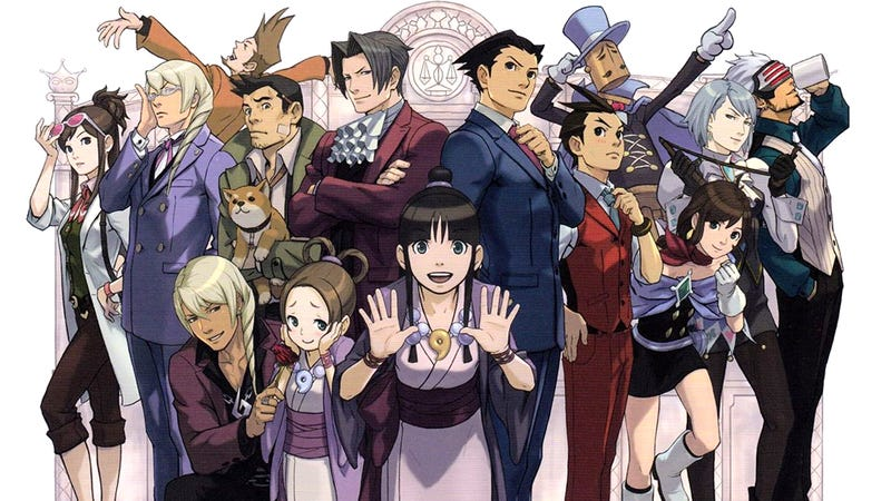 Illustration for article titled All of Ace Attorney on One Long Timeline