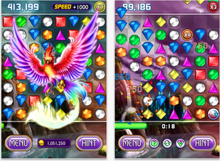 Illustration for article titled PopCap Yanks Bejeweled 2 + Blitz from iTunes to Split It in Two