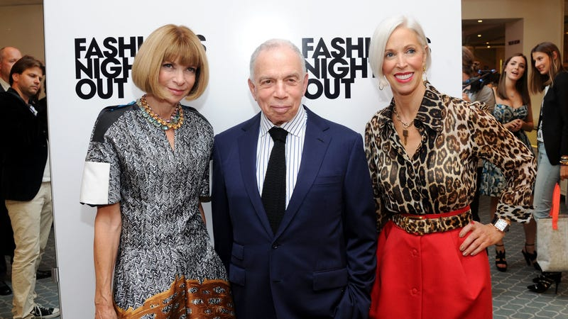 Newhouse with Anna Wintour in 2011. Photo via Getty Images.