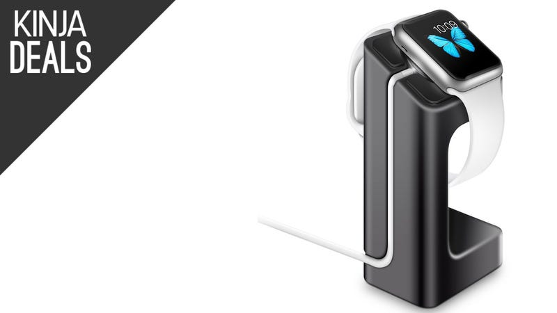 Illustration for article titled This $5 Stand is the Apple Watch's Cheapest Accessory