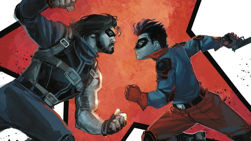 Illustration for article titled A deadly accident haunts Bucky Barnes in this Winter Soldier #5 exclusive
