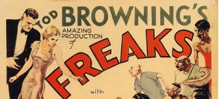 Illustration for article titled Tod Browning's Freaks Did Sideshow Horror Before It Was Cool