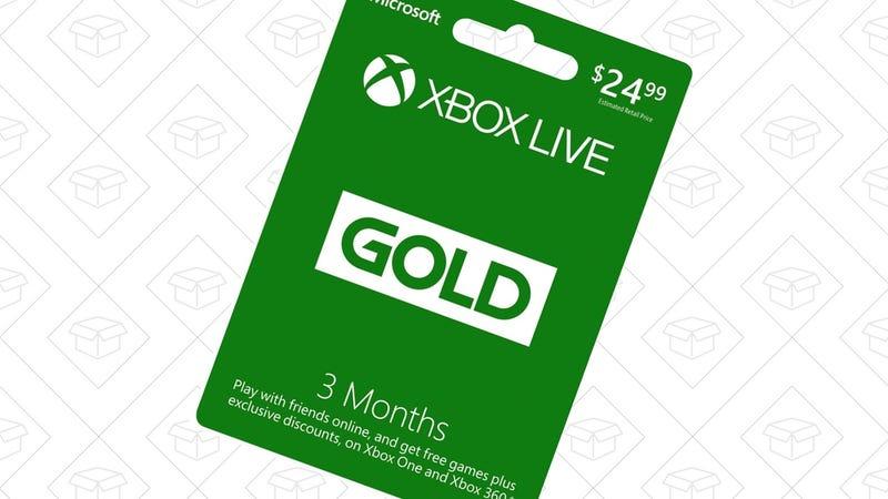 Xbox Live 3-Month Membership | $15 | Amazon
