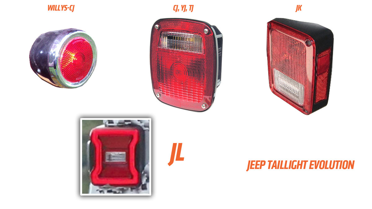 Lets Really Look At The Taillights And Turn Signals Of 2018 1973 Vw Beetle Tail Light Wiring Diagram Taillight Jeep Wrangler Jl