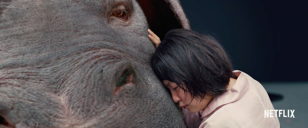 the first trailer for netflix s fantasy film okja is all about heartbreak and evil corporations