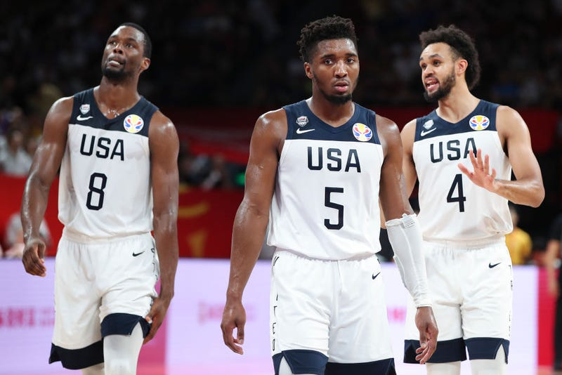 Illustration for article titled Team USA Dropkicked Out Of World Cup By Rudy Gobert And ... Frank Ntilikina?