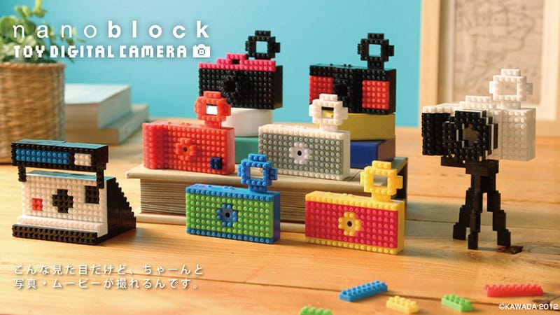 Illustration for article titled At Least This Faux Lego Camera Looks Like That Fancy DSLR You Wanted