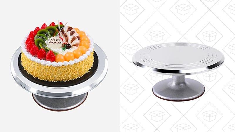Ohuhu Aluminium Cake Decorating Stand | $27 | Amazon