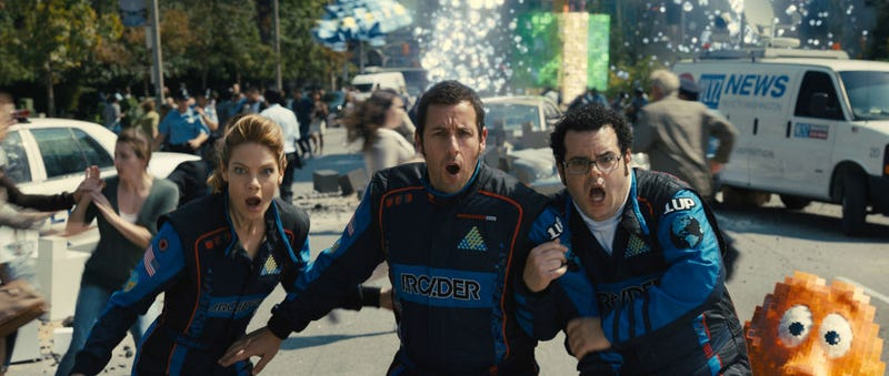 Illustration for article titled Adam Sandler Has Never Ruined A Movie As Much As He Ruins Pixels