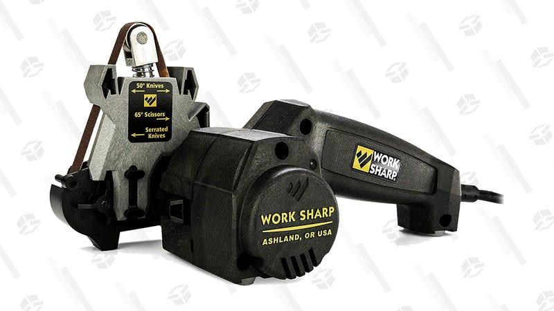 Work Sharp Knife & Tool Sharpener | $53 | Amazon