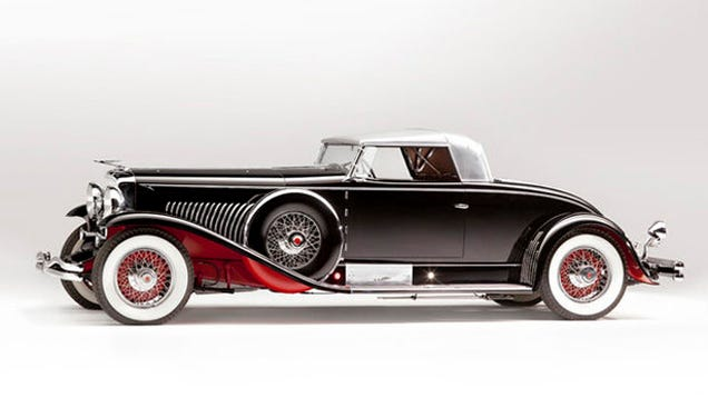 This is what a 1034 million Duesenberg looks like