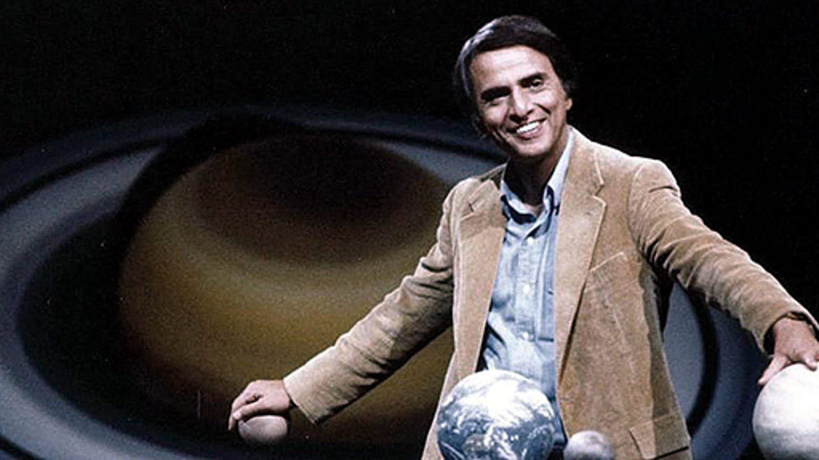 Every time Carl Sagan said million, billion, trillion, and