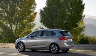 Illustration for article titled 2015 BMW 2-Series Active Tourer: This Is The First Front-Drive BMW