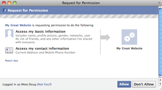 Illustration for article titled Third-Party Facebook Apps Could Have Access to Your Address and Phone Number