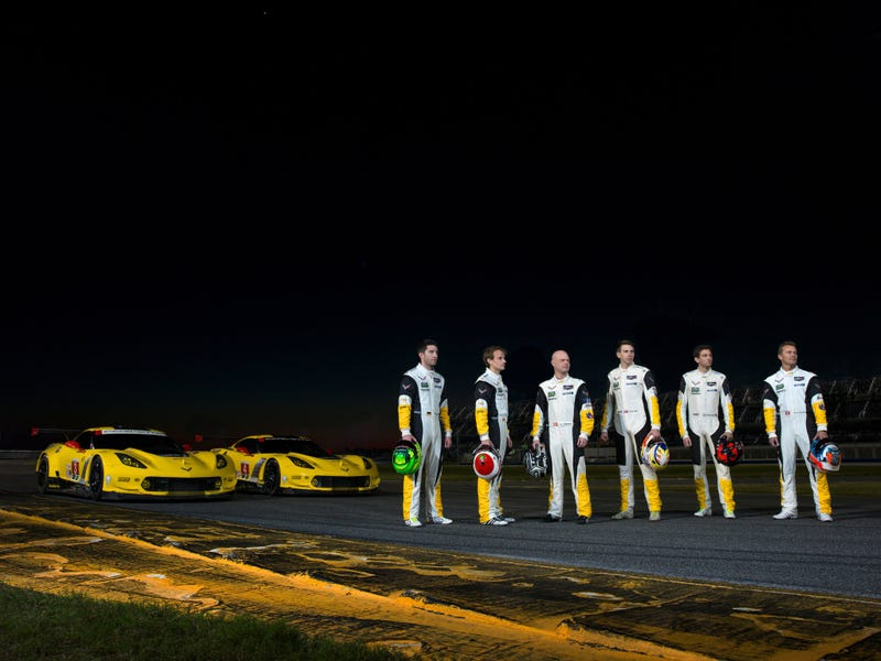 Illustration for article titled Godspeed to Corvette Racing come Rolex 24
