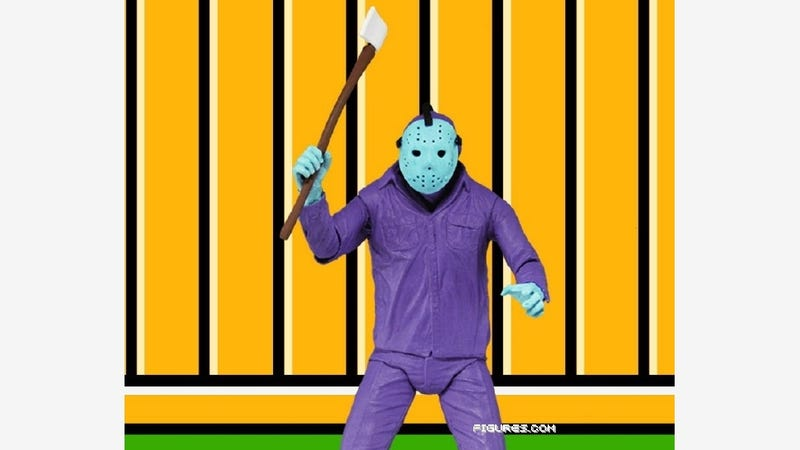 Illustration for article titled Horrid Friday the 13th NES Game Gets This Special Edition Figurine