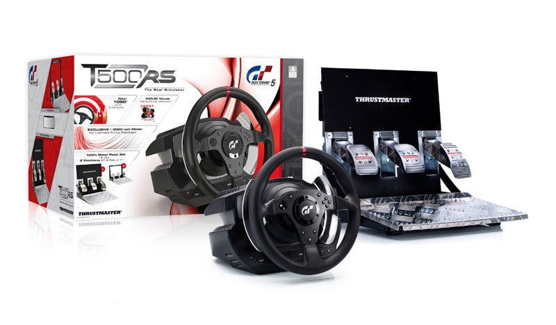 Illustration for article titled The Ultimate Gran Turismo 5 Racing Wheel Is Actually $600