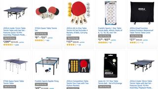 Gold Box de ping pong | Amazon