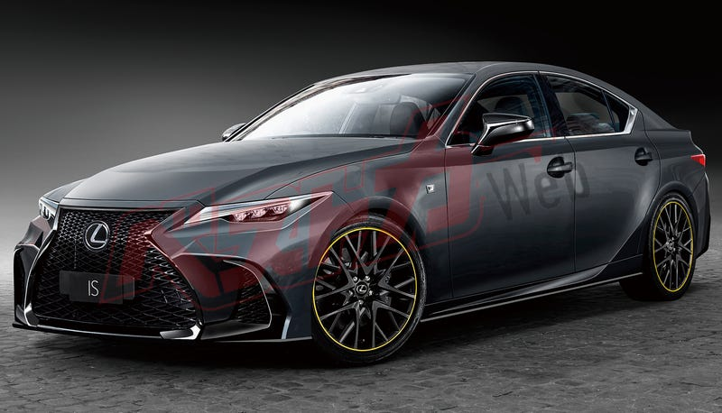 Illustration for article titled 2021 Lexus IS: This is It*