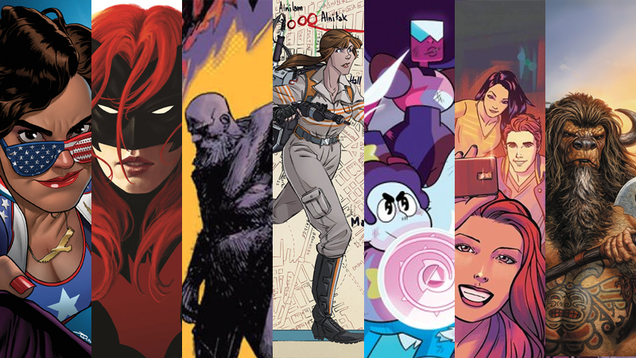 all the fabulous new comics kicking off 2017