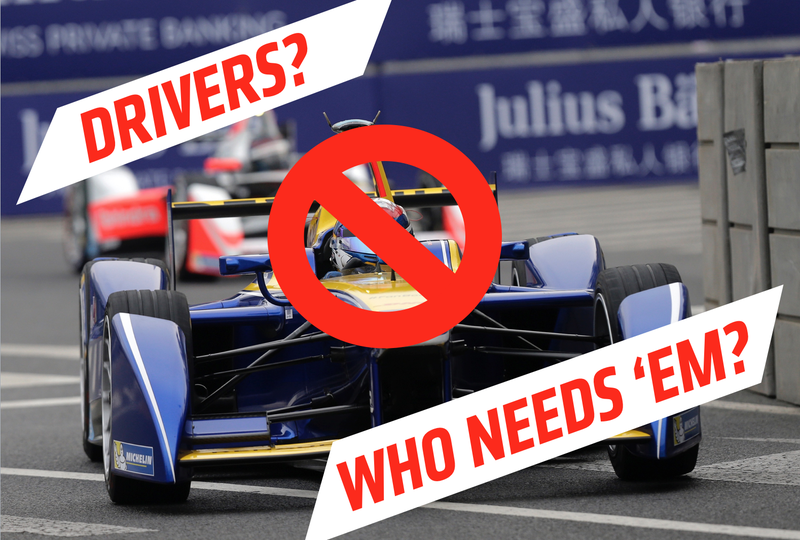 Illustration for article titled It's Here: Formula E Announces Intention To Field A Driverless Racing Support Series