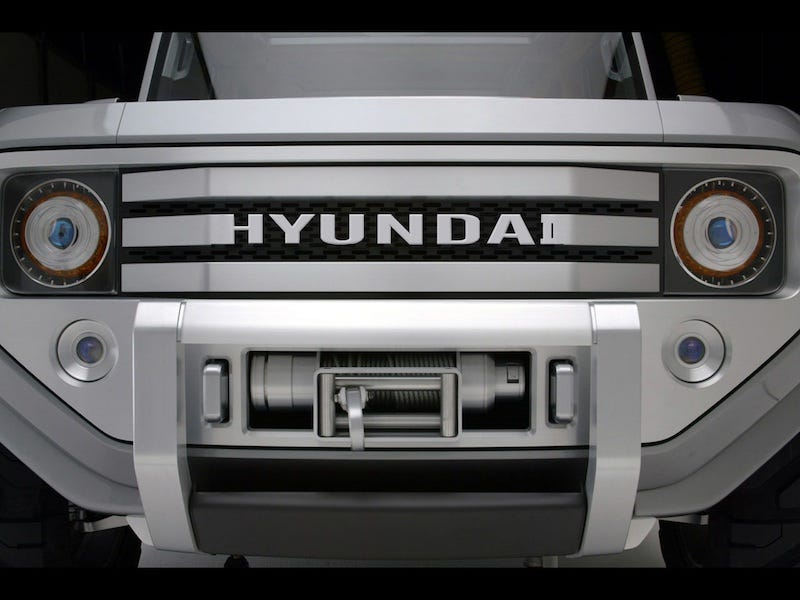Illustration for article titled Hyundai May Build 4WD Bronco-Like Wrangler-Fighter