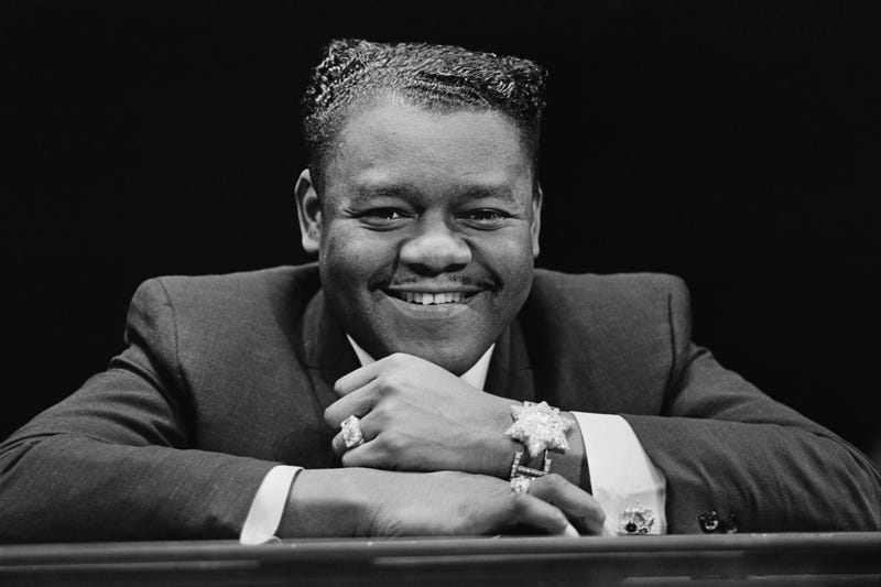 Fats Domino in 1967 (Clive Limpkin/Daily Express/Hulton Archive/Getty Images)