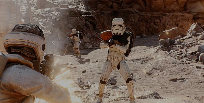 Illustration for article titled Solo hace falta un mod para que Star Wars: Battlefront sea tan realista como las películas