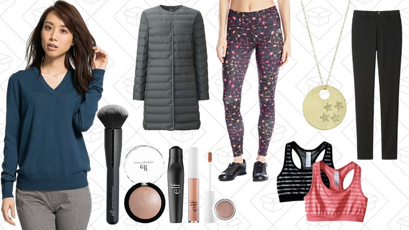 Illustration for article titled Today's Best Lifestyle Deals: Uniqlo, Activewear, e.l.f. Cosmetics, and More