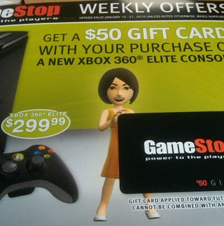 Illustration for article titled GameStop Looking To Offload Its Xbox 360 Elites?