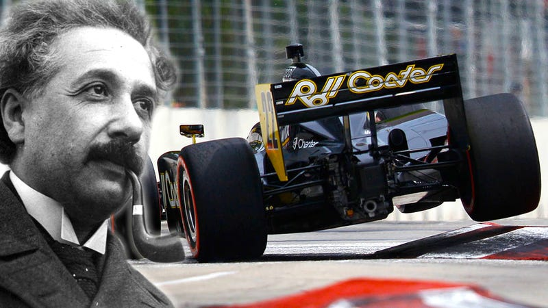 Illustration for article titled Why Einstein Should Have Designed Racetracks (And The Insanity Of The Baltimore GP)