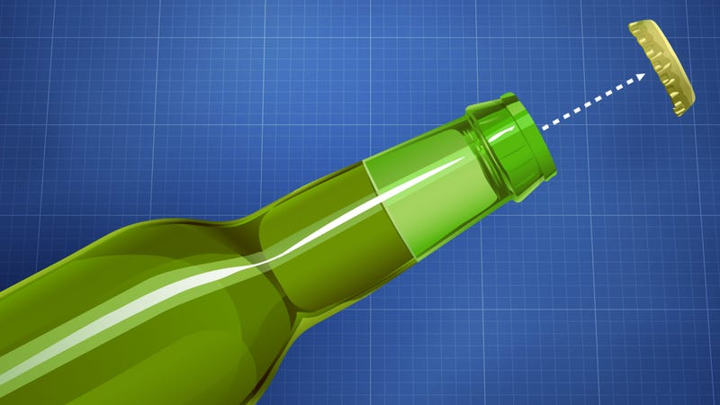 Illustration for article titled How to Open a Beer Bottle Without an Opener