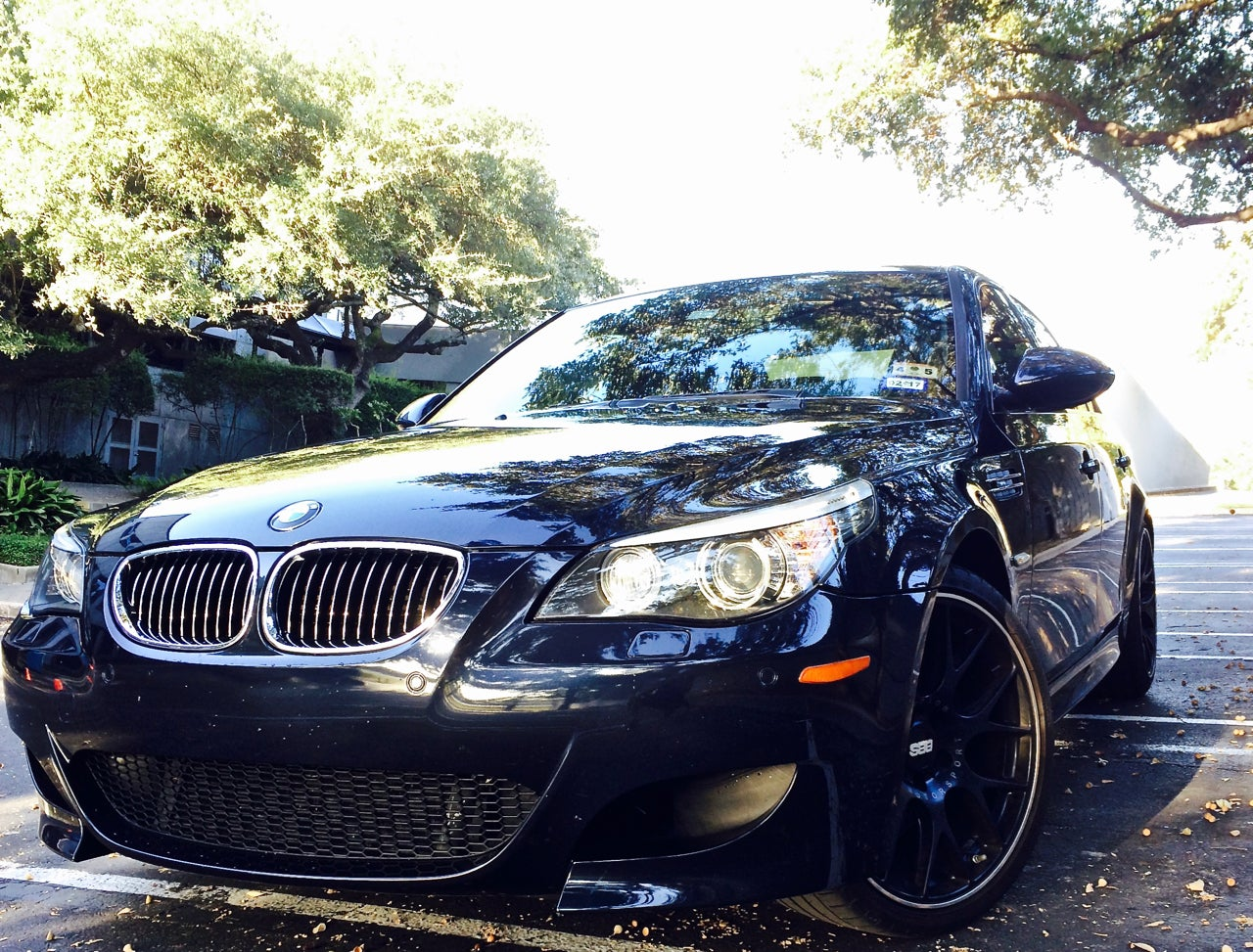 what it s really like to own and operate a v10 bmw m5 every day rh jalopnik com BMW M5 Manual F80 BMW M5 Manual Transmission