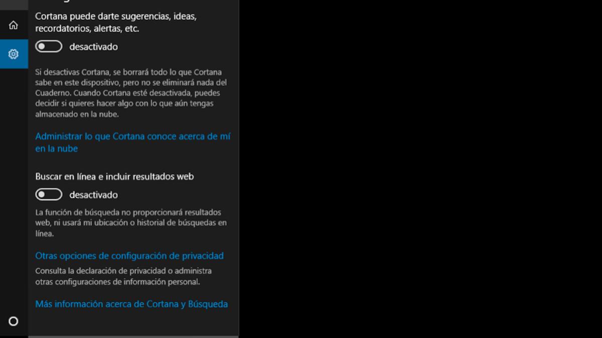 0f45c127c4f Todo lo que hay que desactivar en Windows 10 para proteger tu privacidad