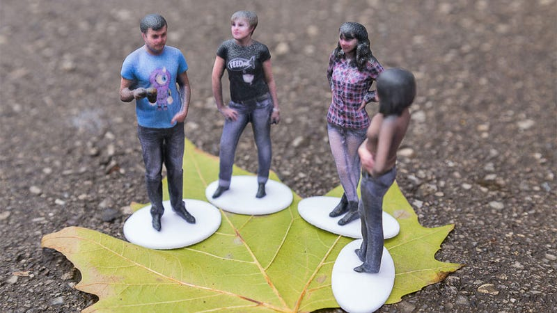 Illustration for article titled Kinect Can Turn You Into A Tiny Action Figure