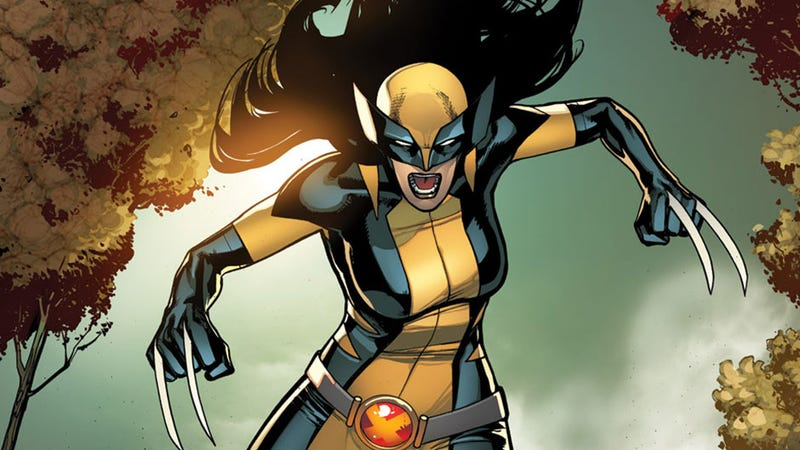 Illustration for article titled Una Wolverine mujer es el gran cambio que necesitaba el universo de Marvel