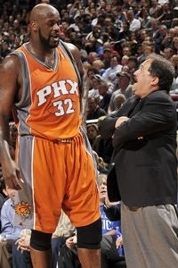 Illustration for article titled Shaq Politely Requests Stan Van Gundy To Taste His Buttocks