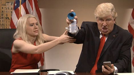 taran killam says snl parodying trump is hypocritical after letting