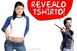 Illustration for article titled Non-Magic T-Shirt Reveals Harry Potter's Ending to Enrage Fans