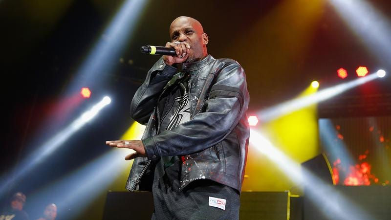 DMX at the Ruff Ryders reunion show in New York back in April. (photo: John Lamparski / Getty Images)