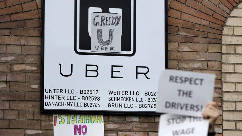 Uber And Lyft Drivers' Fight For Unionization Sill Alive (For Now)