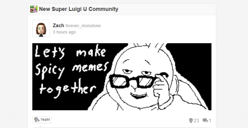 Illustration for article titled Miiverse Posts Can Be Saved, But Users Are Still Mourning