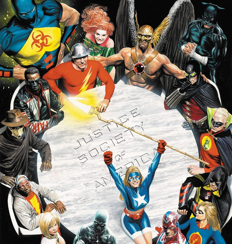 Illustration for article titled No School Like Old School: Explaining the Justice Society of America