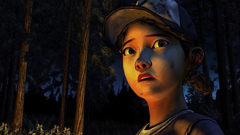 Illustration for article titled In season two of The Walking Dead, a coarser, jaded Clementine emerges