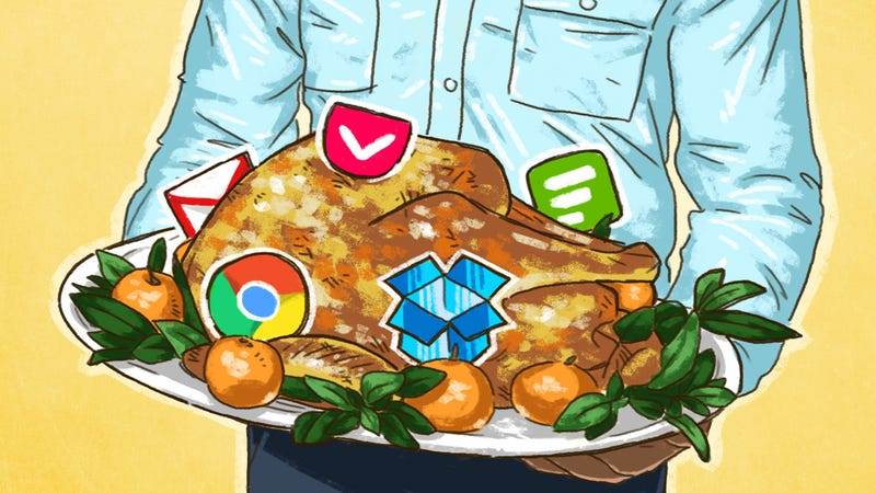Illustration for article titled The 50 Free Apps We're Most Thankful For