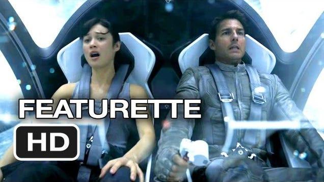 As 237 Construyeron La Futurista Nave Espacial De Tom Cruise En Oblivion