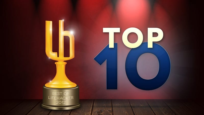 Illustration for article titled Most Popular Top 10s of 2012
