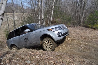 Illustration for article titled Off-Roading in a 2014 Land Rover Range Rover – Part 2