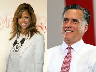 Stacey Dash (Frazer Harrison/Getty Images Entertainment);Mitt Romney (Justin Sullivan/Getty Images News)